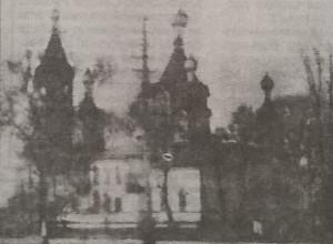 Петропавлівська церква (на місці школи № 1) 1937 р.